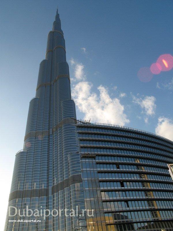 Дубаи. Дубаи Молл. Бурж Дубай,